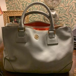 Sky blue Tory Burch limited edition